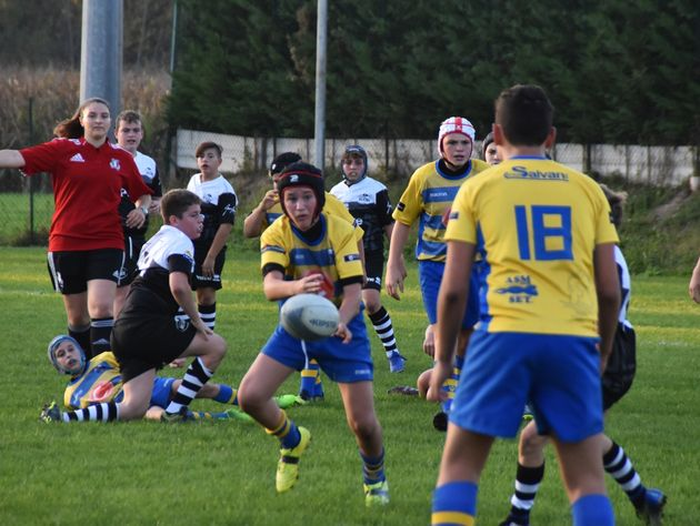 Weekend di divertimento per il minirugby del Frassinelle